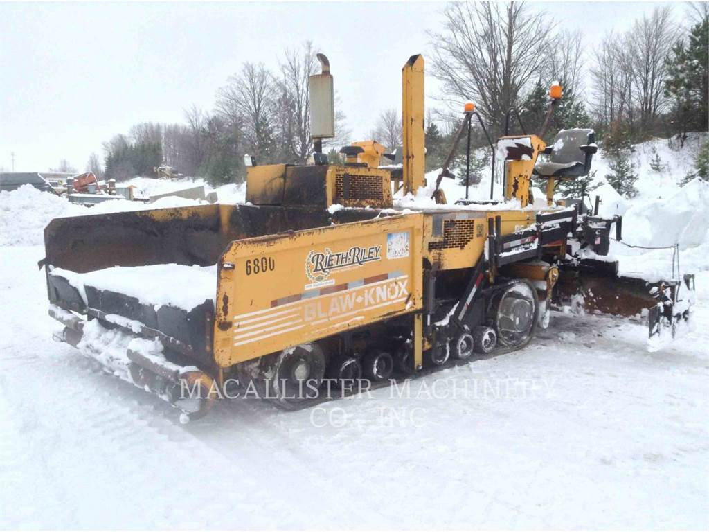 Blaw-Knox PF5510, Rozściełacze do asfaltu, Sprzęt budowlany