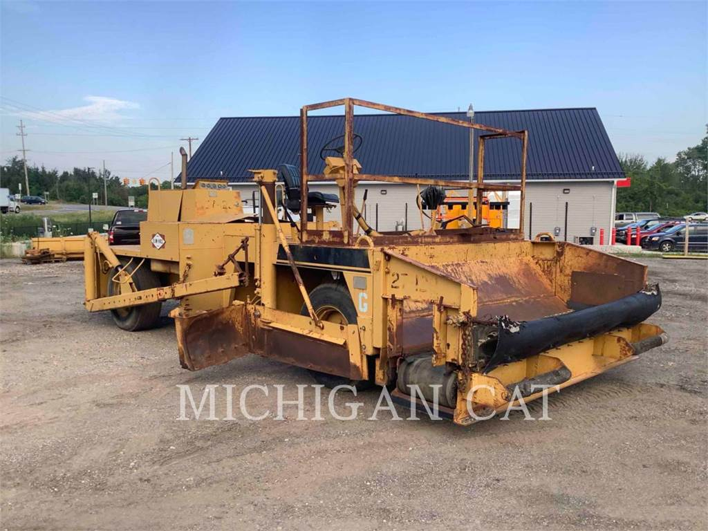 Blaw-Knox RW100, Asphalt pavers, Construction