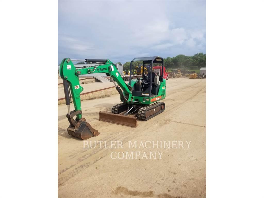Bobcat 329, Crawler Excavators, Construction