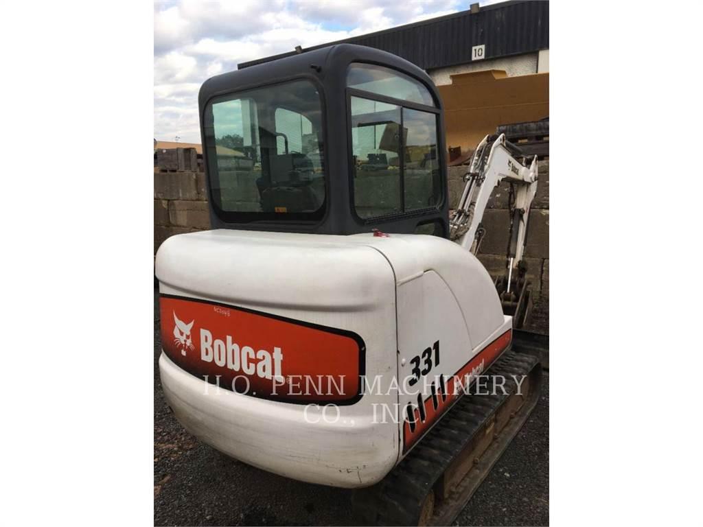 Bobcat 331, Pelle sur chenilles, Équipement De Construction