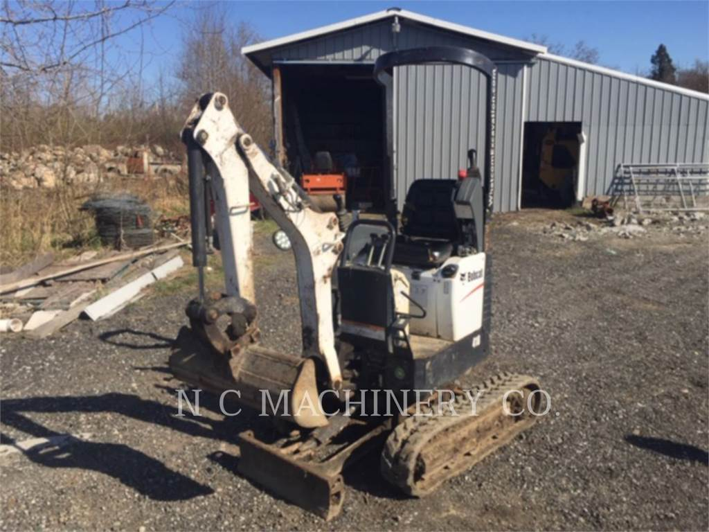 Bobcat 418, Crawler Excavators, Construction