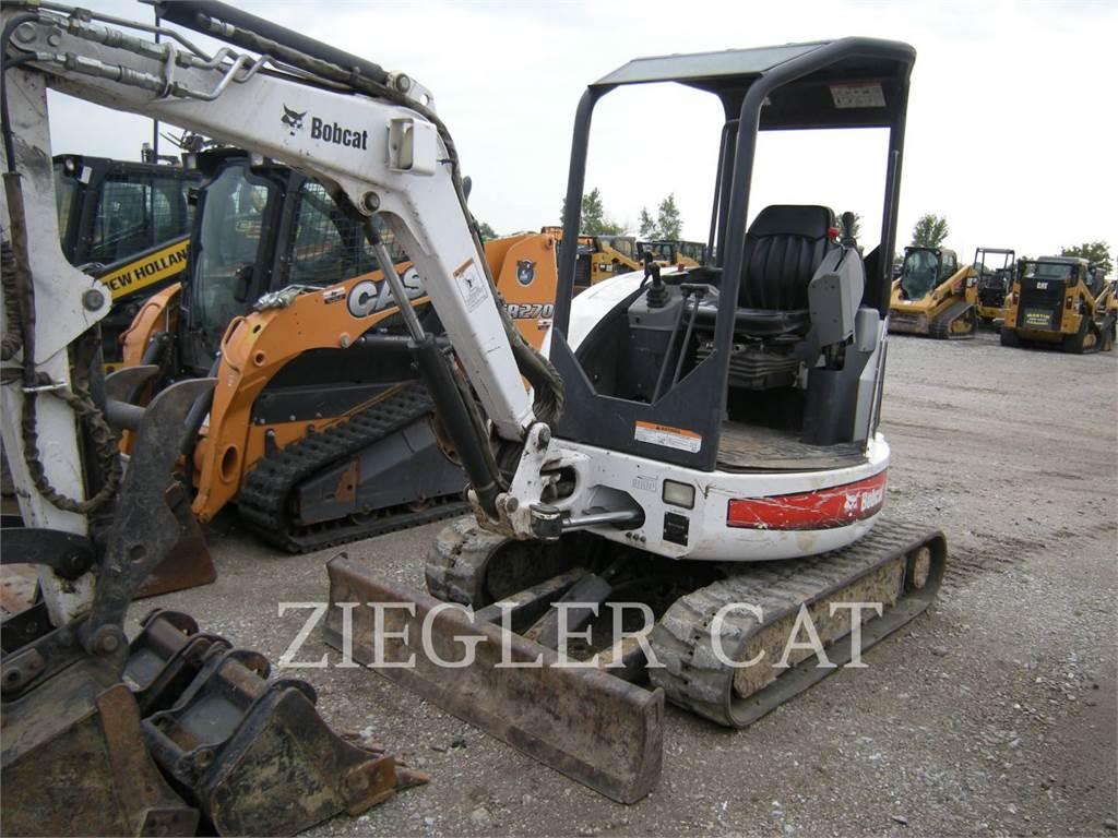 Bobcat 425, Escavatori cingolati, Attrezzature Da Costruzione