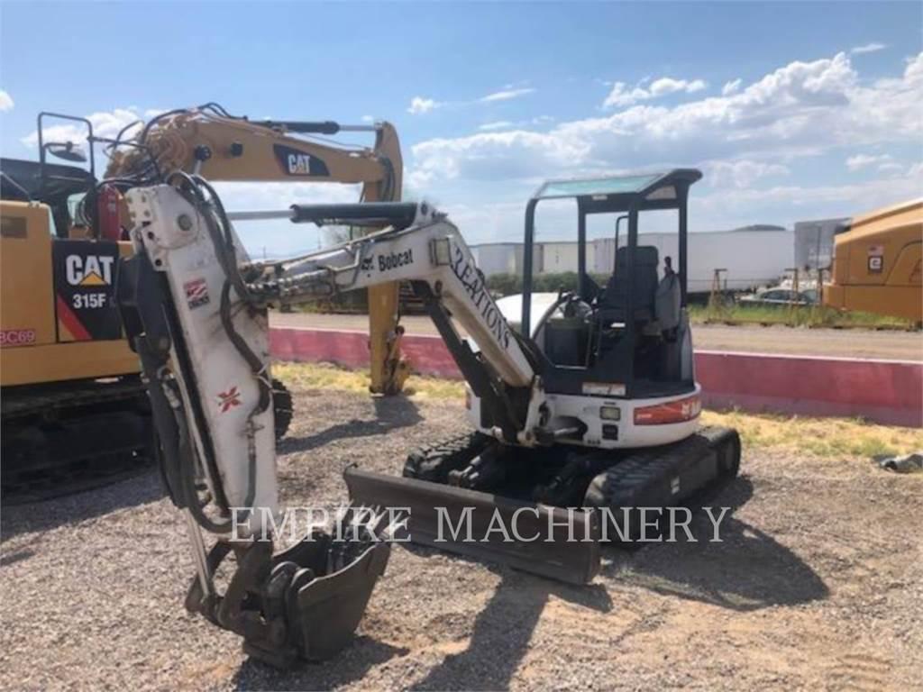 Bobcat 430G, Escavatori cingolati, Attrezzature Da Costruzione