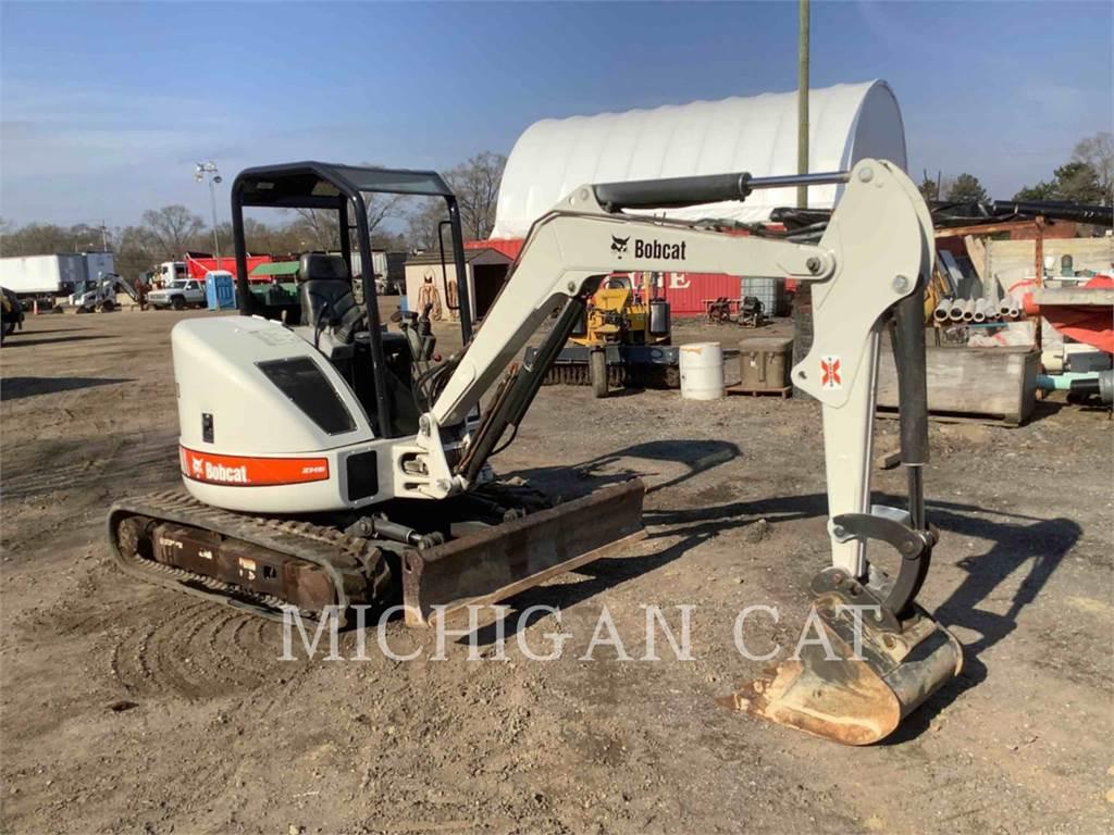 Bobcat 430G, Crawler Excavators, Construction