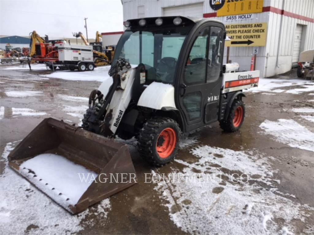 Bobcat 5600, Mini incarcator, Constructii