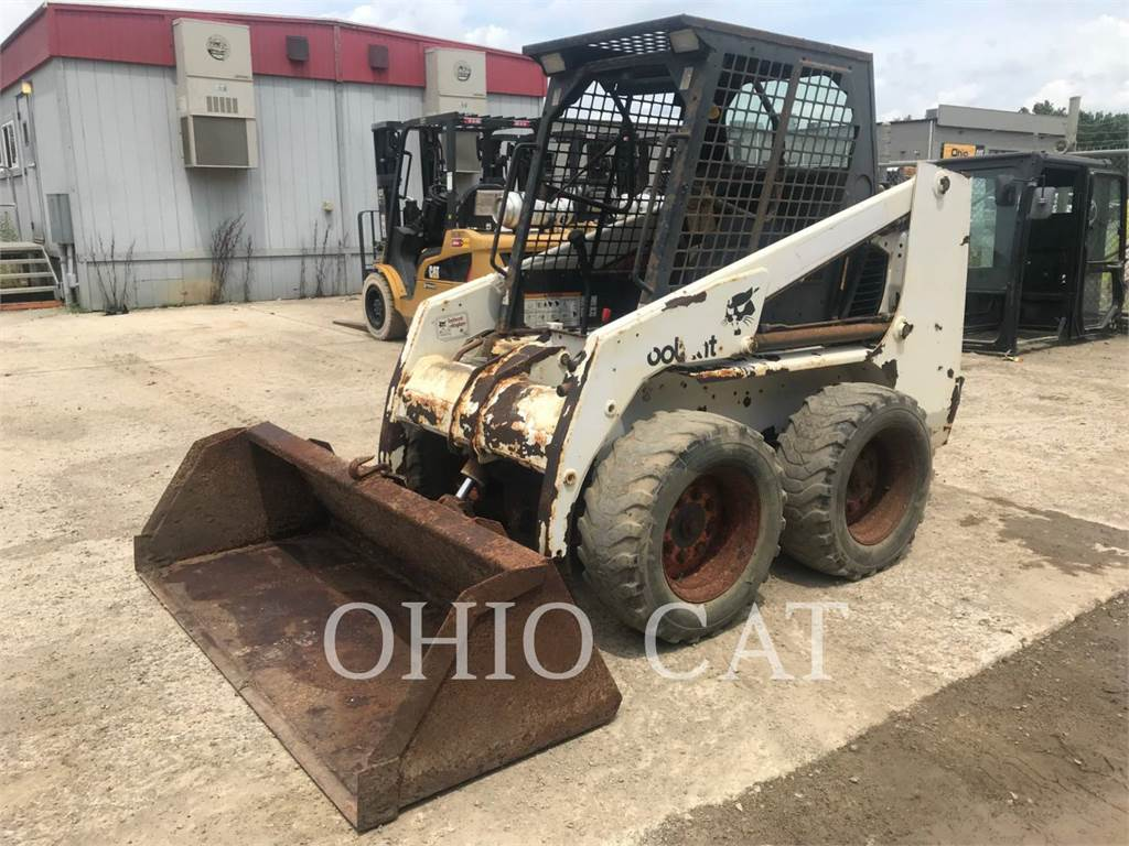 Bobcat 751, Skid Steer Loaders, Construction