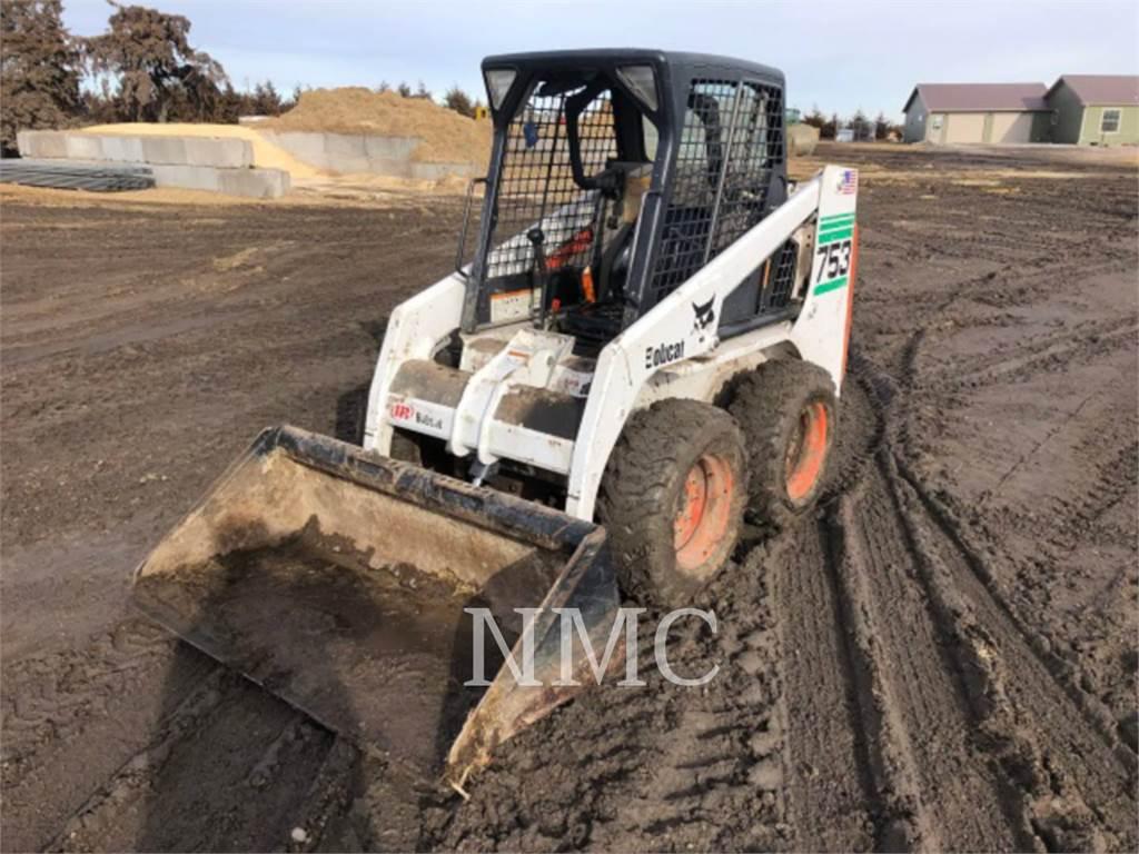 Bobcat 753_BB, Skid Steer Loaders, Construction