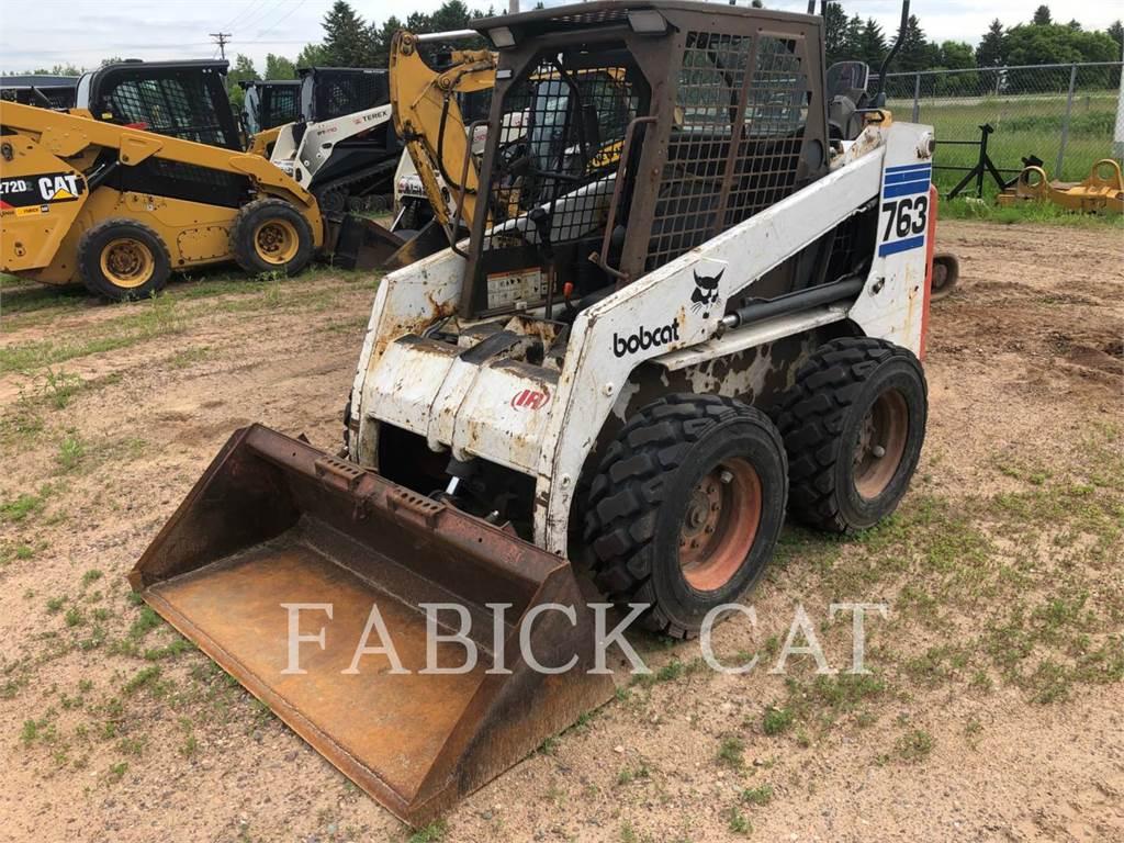 Bobcat 763F, Chargeuse compacte, Équipement De Construction