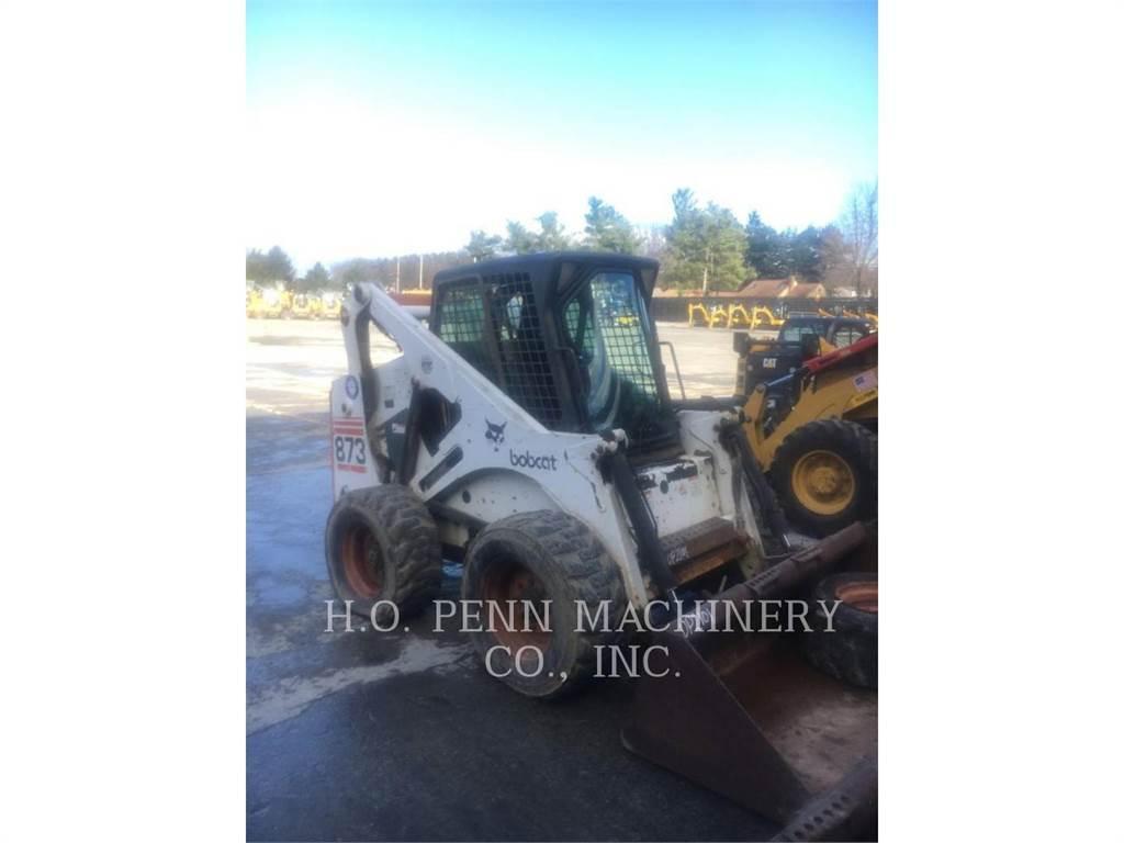Bobcat 873, Chargeuse compacte, Équipement De Construction