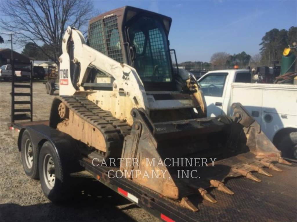 Bobcat BOB T190, Skid Steer Loaders, Construction