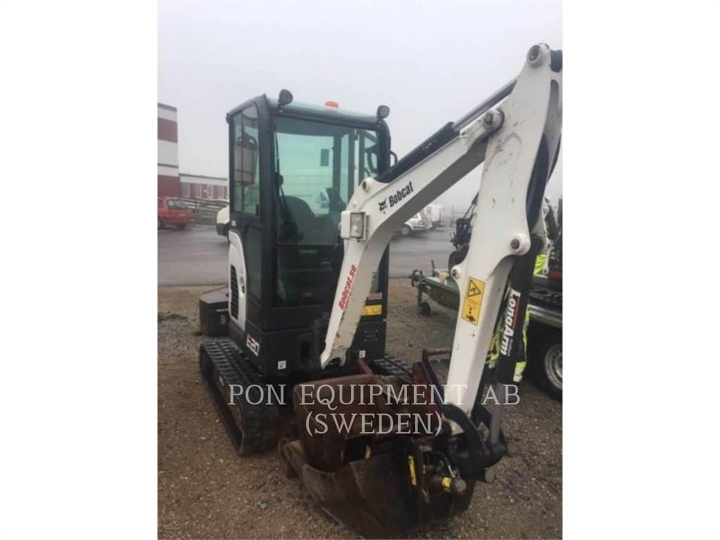 Bobcat E 20、履带挖掘机、建筑设备