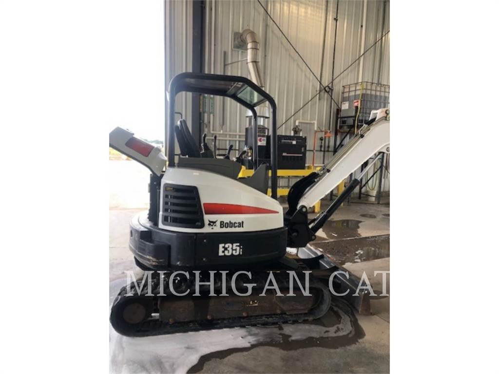 Bobcat E35I, Crawler Excavators, Construction