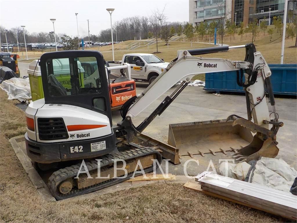 Bobcat E42, Crawler Excavators, Construction