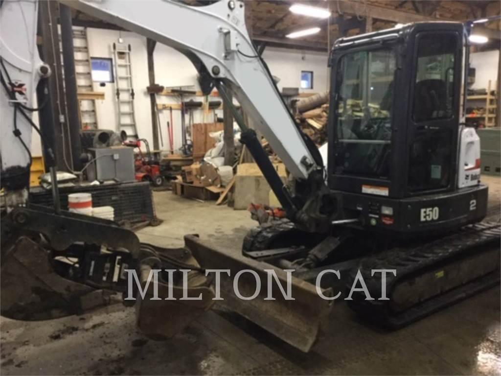 Bobcat E50, Crawler Excavators, Construction