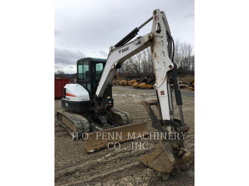 Bobcat E55, Crawler Excavators, Construction
