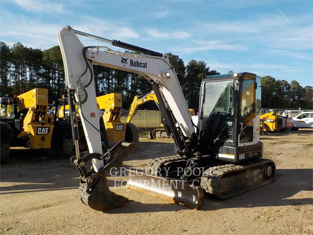 Bobcat E63, Pelle sur chenilles, Équipement De Construction