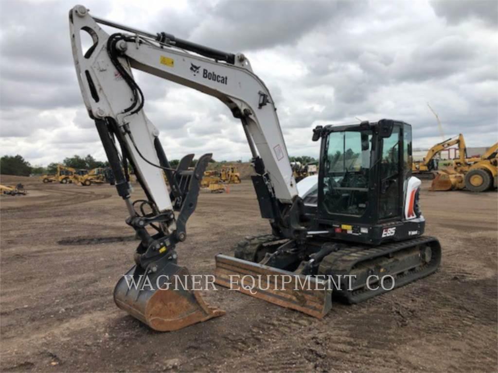 Bobcat E85, Crawler Excavators, Construction