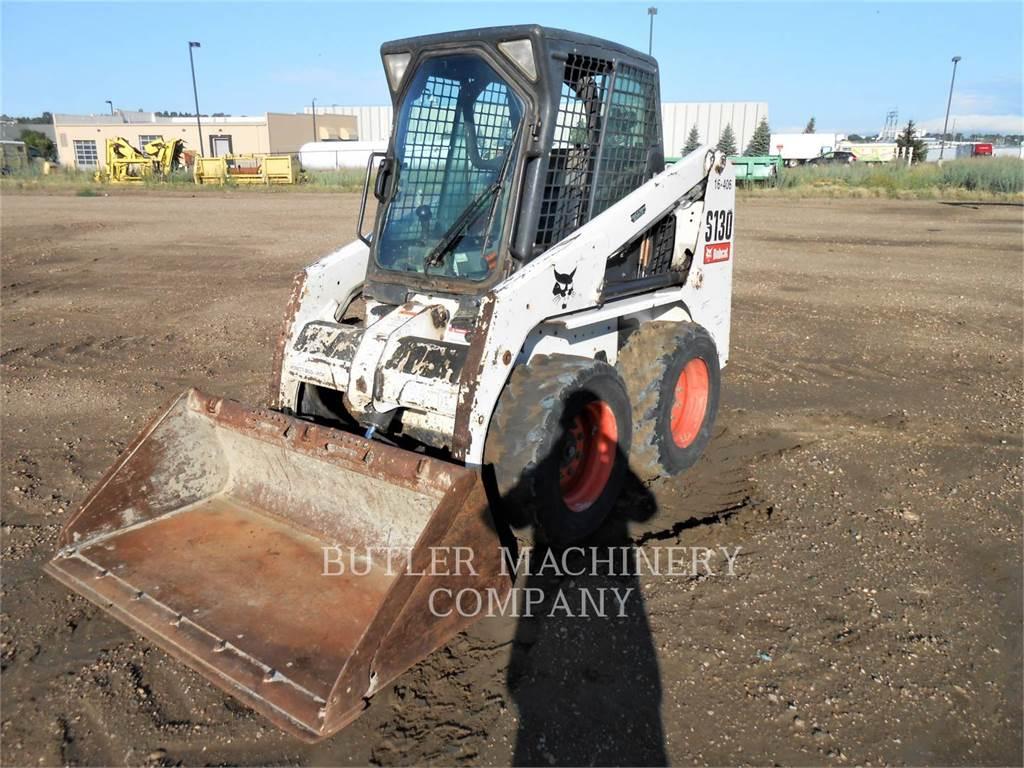 Bobcat S130, Skid Steer Loaders, Construction