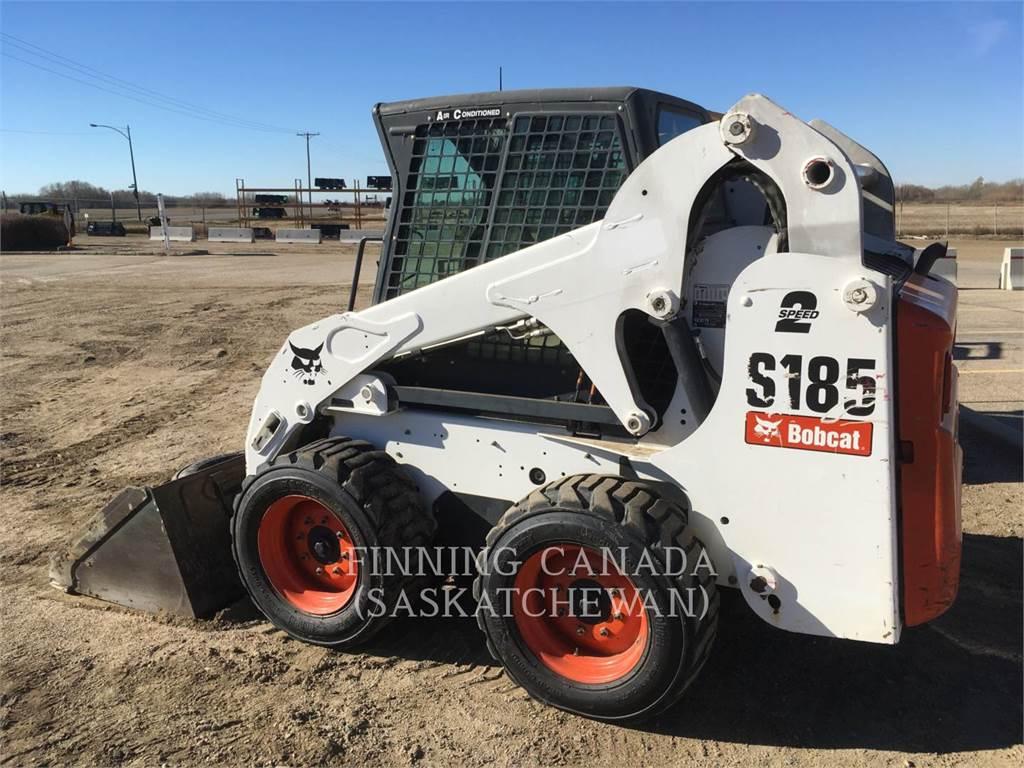 Bobcat S185, Minicargadoras, Construcción