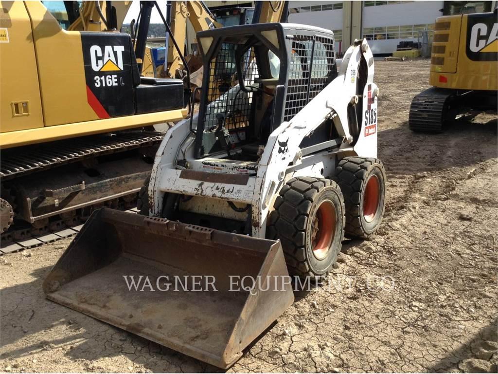 Bobcat S185, Mini incarcator, Constructii