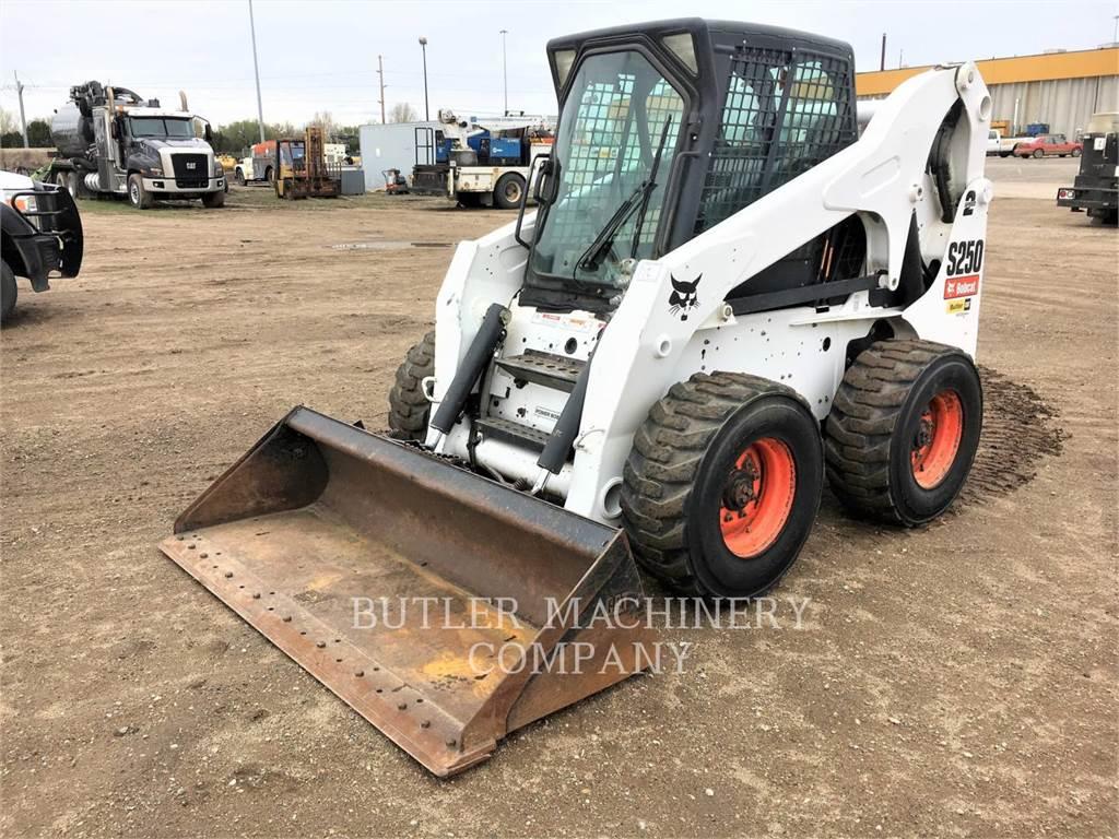 Bobcat S250, Kompaktlader, Bau-Und Bergbauausrüstung