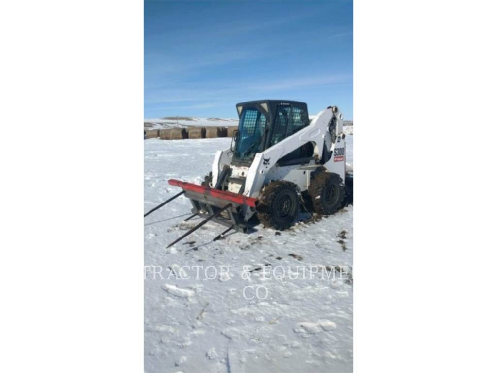 Bobcat S300, Skid Steer Loaders, Construction
