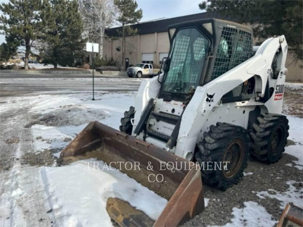 Bobcat S300, Minicargadoras, Construcción