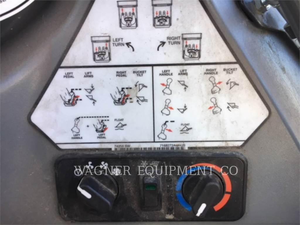 Bobcat S450, Minicargadoras, Construcción