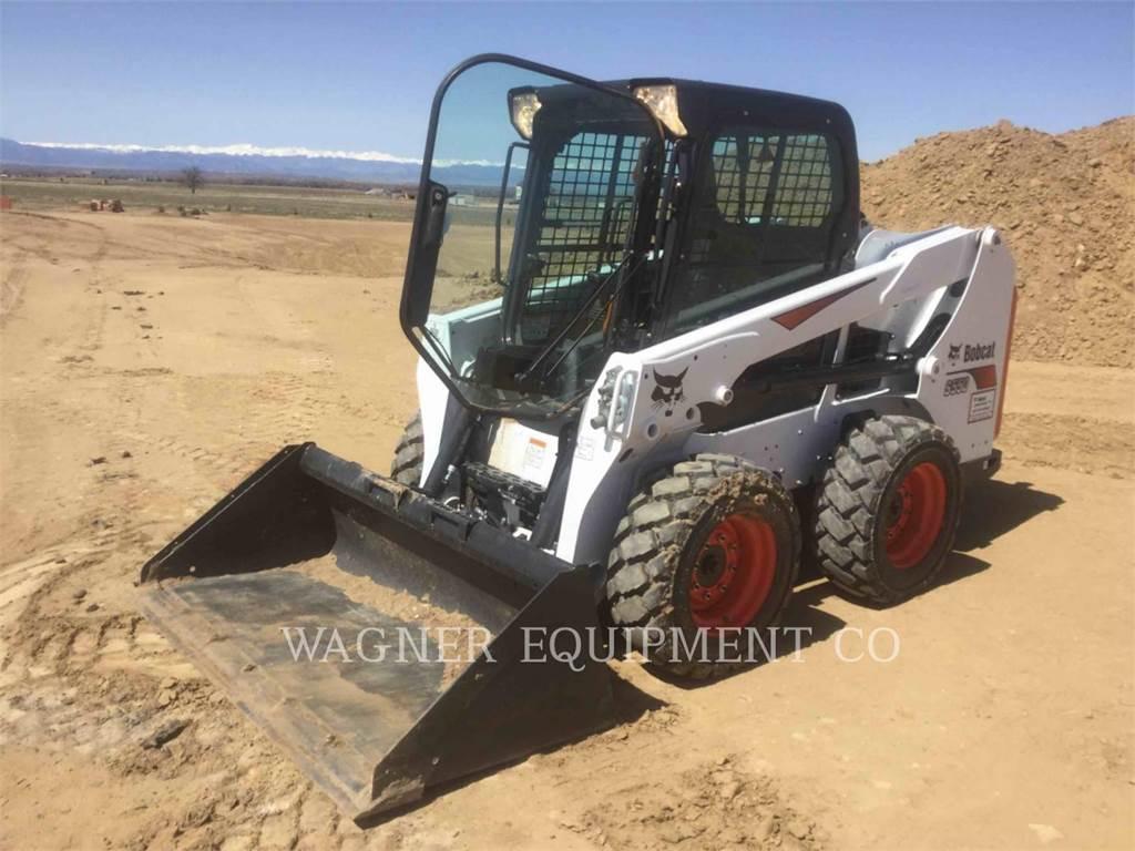 Bobcat S550, Minicargadoras, Construcción