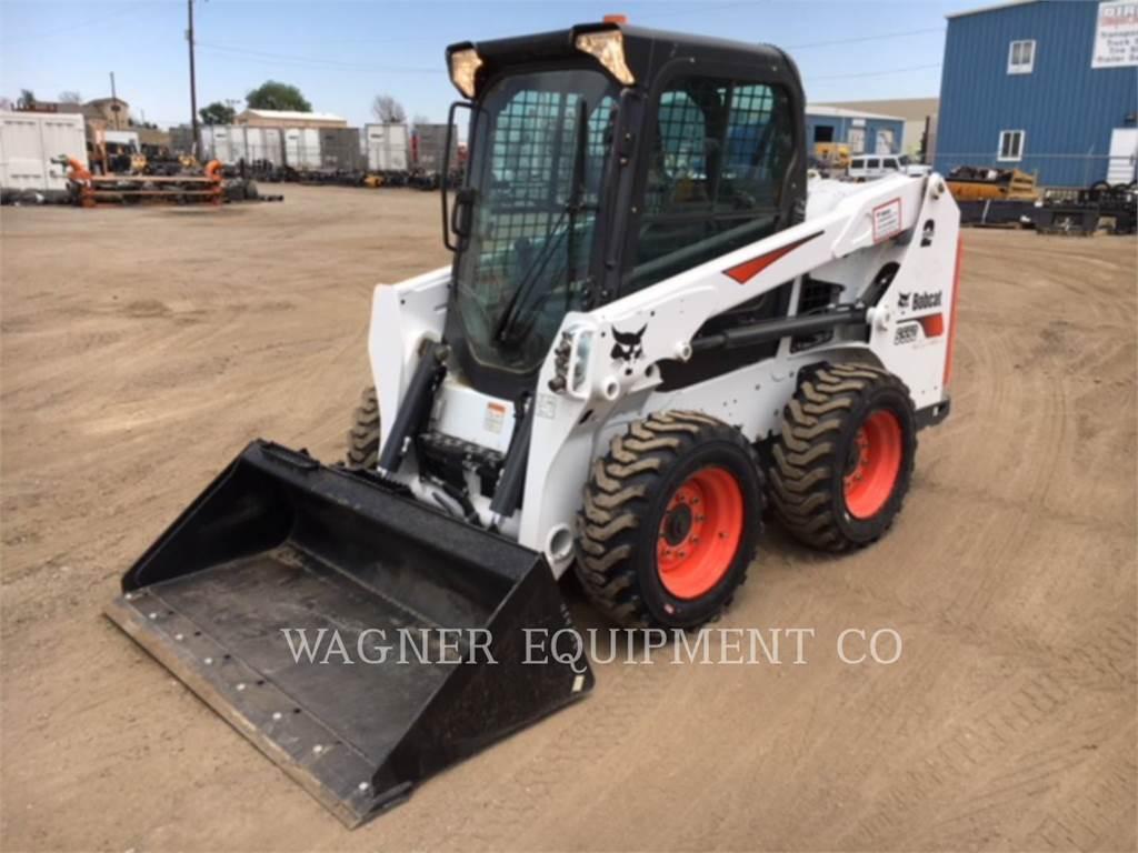 Bobcat S550, Skid Steer Loaders, Construction