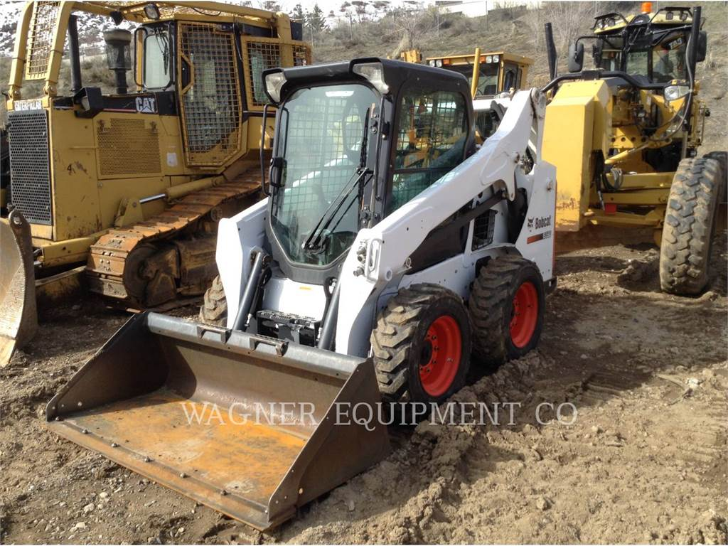 Bobcat S590, Skid Steer Loaders, Construction