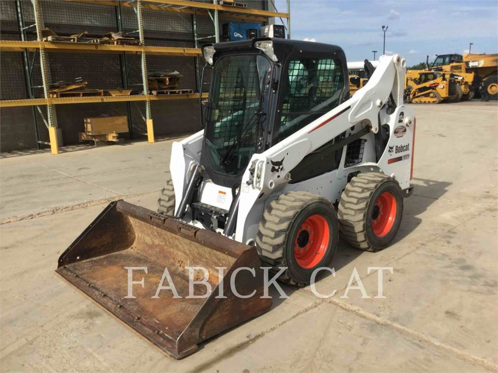 Bobcat S590, Skid Steer Loaders, Construction