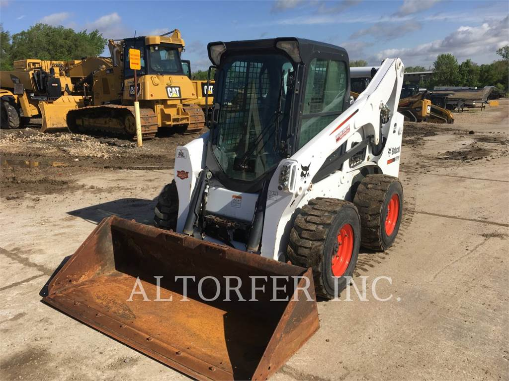 Bobcat S750, Skid Steer Loaders, Construction