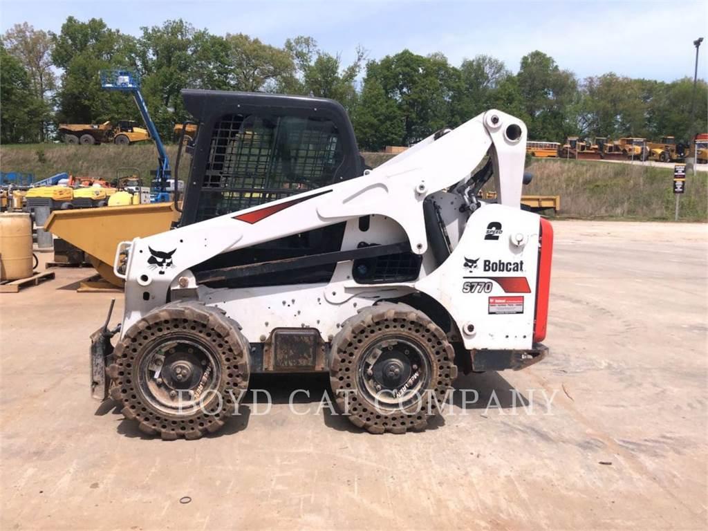 Bobcat S770, Skid Steer Loaders, Construction