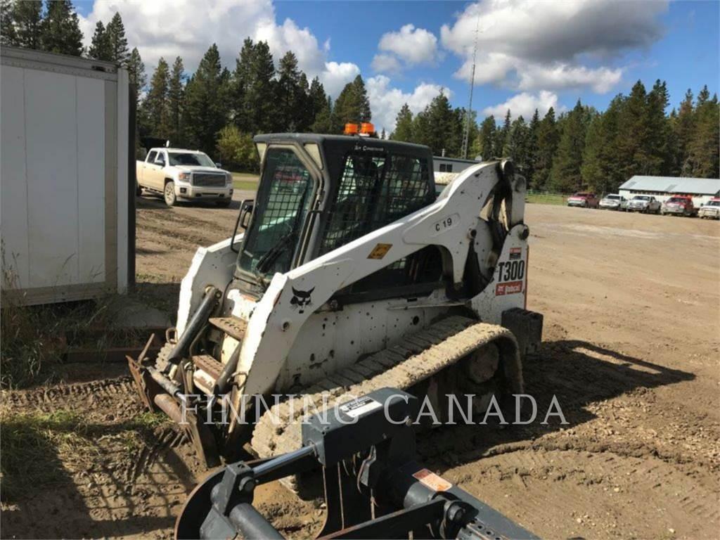 Bobcat T300, Carregadoras de direcção deslizante, Equipamentos Construção