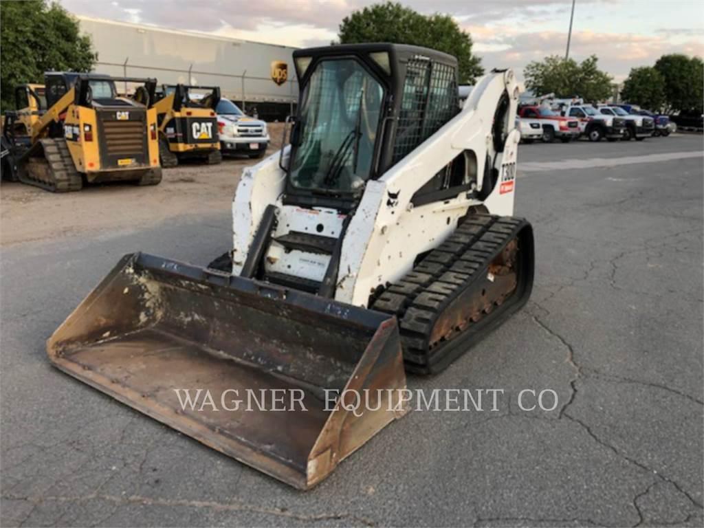 Bobcat T300, Skid Steer Loaders, Construction