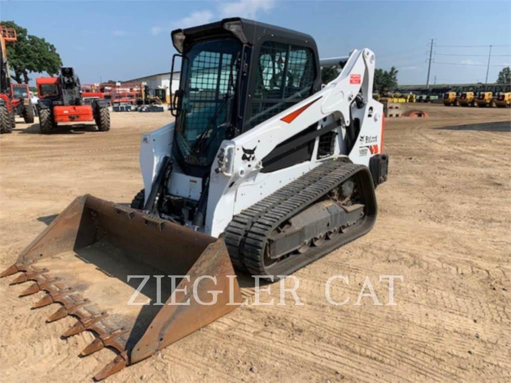 Bobcat T595, Skid Steer Loaders, Construction