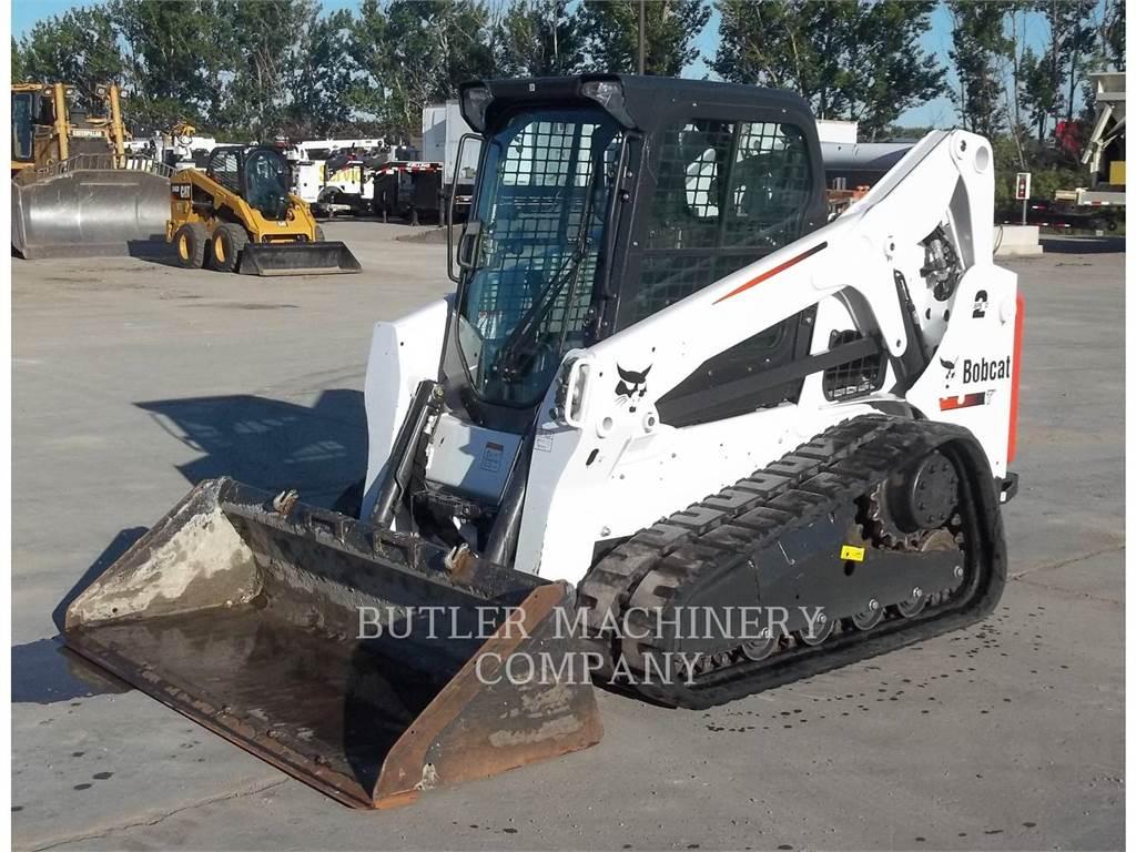 Bobcat T650, Carregadoras de direcção deslizante, Equipamentos Construção