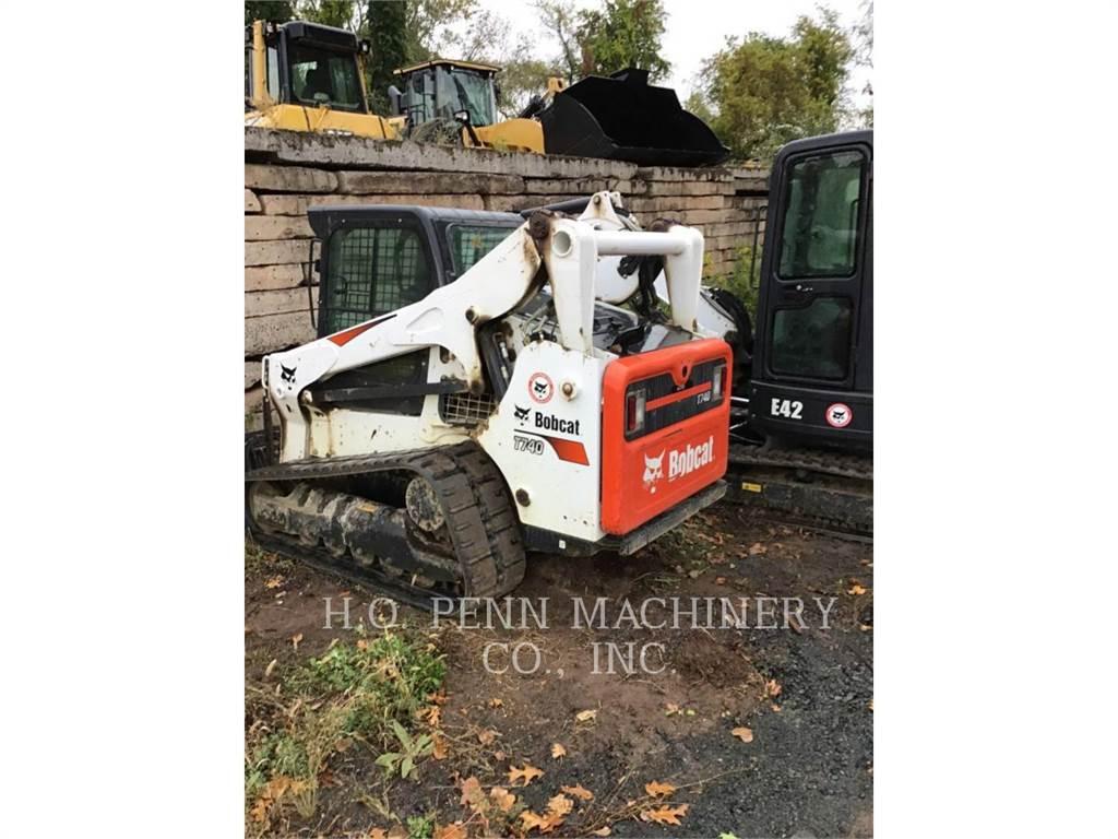 Bobcat T740, Skid Steer Loaders, Construction