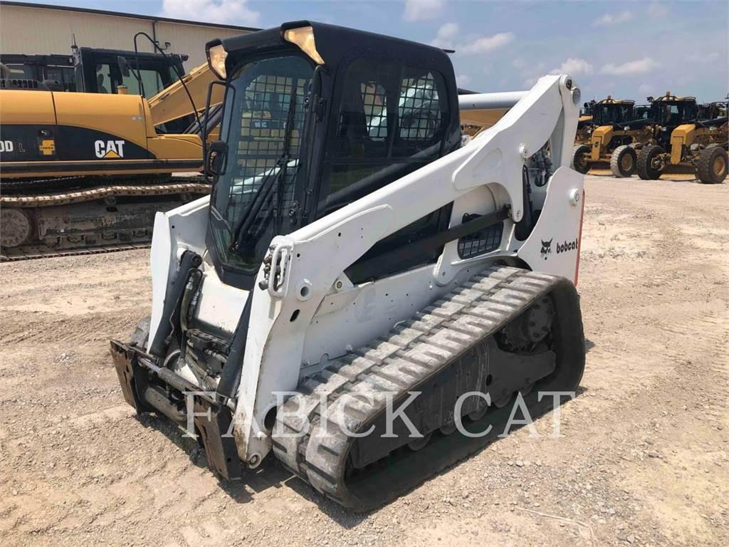 Bobcat T750, Mini incarcator, Constructii