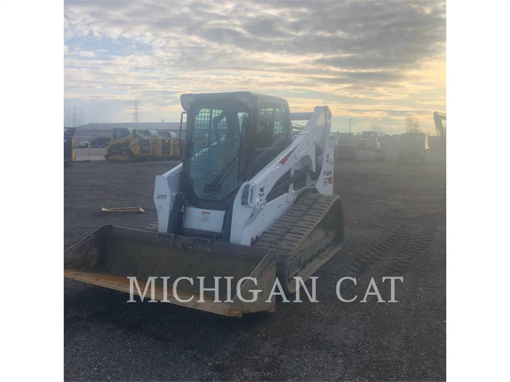 Bobcat T750, Skid Steer Loaders, Construction