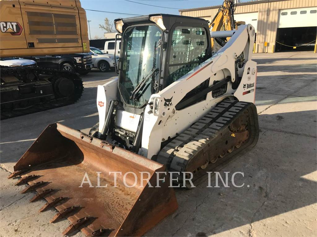 Bobcat T770, Skid Steer Loaders, Construction