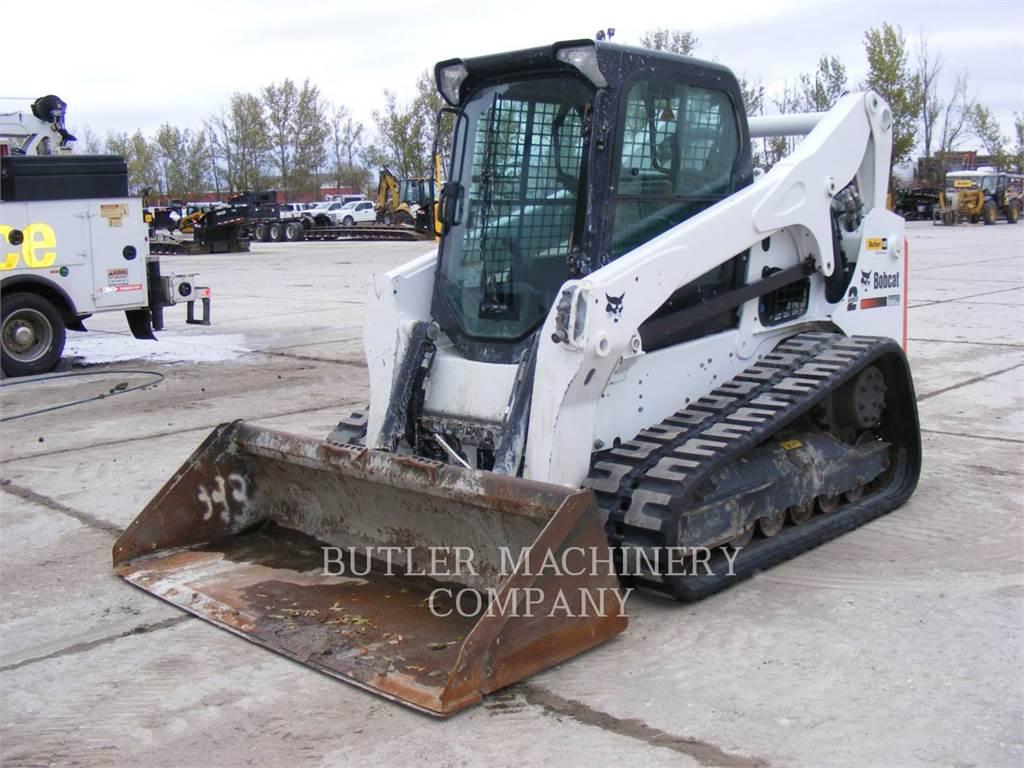 Bobcat T770, Skid Steer Loaders, Construction