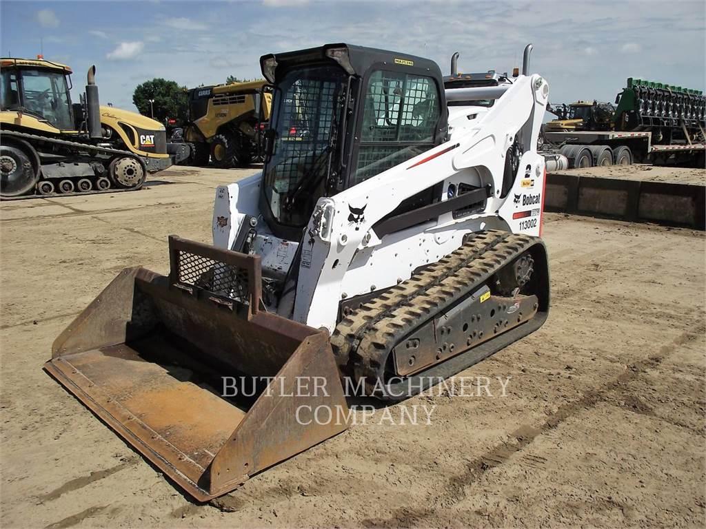Bobcat T870, Skid Steer Loaders, Construction