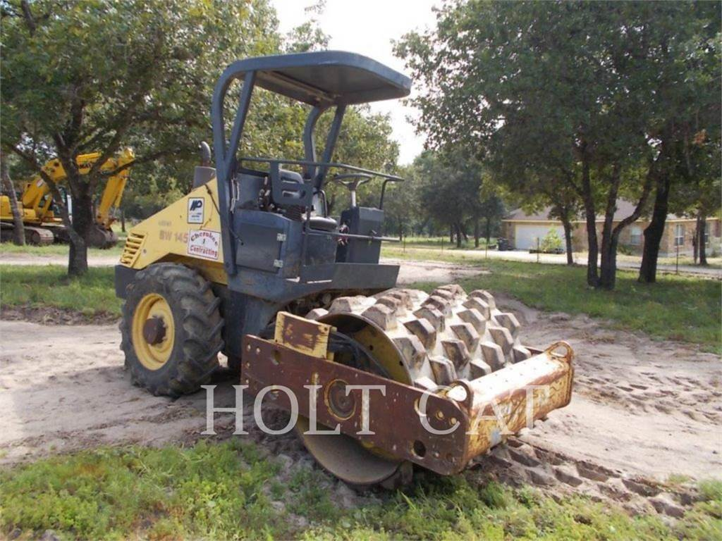Bomag BW 145 PDH-3, Single drum rollers, Construction