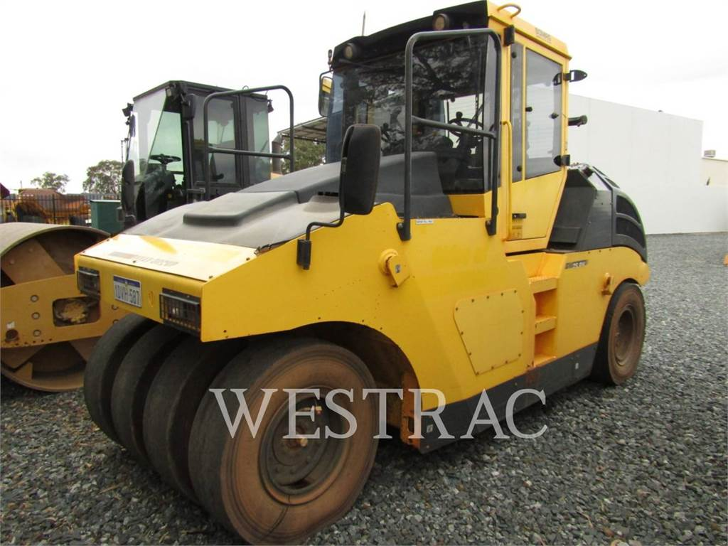 Bomag BW25RH, pneumatic tired compactors, Construction