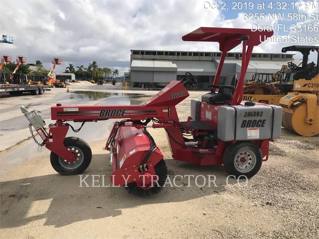 Broce BW260, Bürsten, Bau-Und Bergbauausrüstung