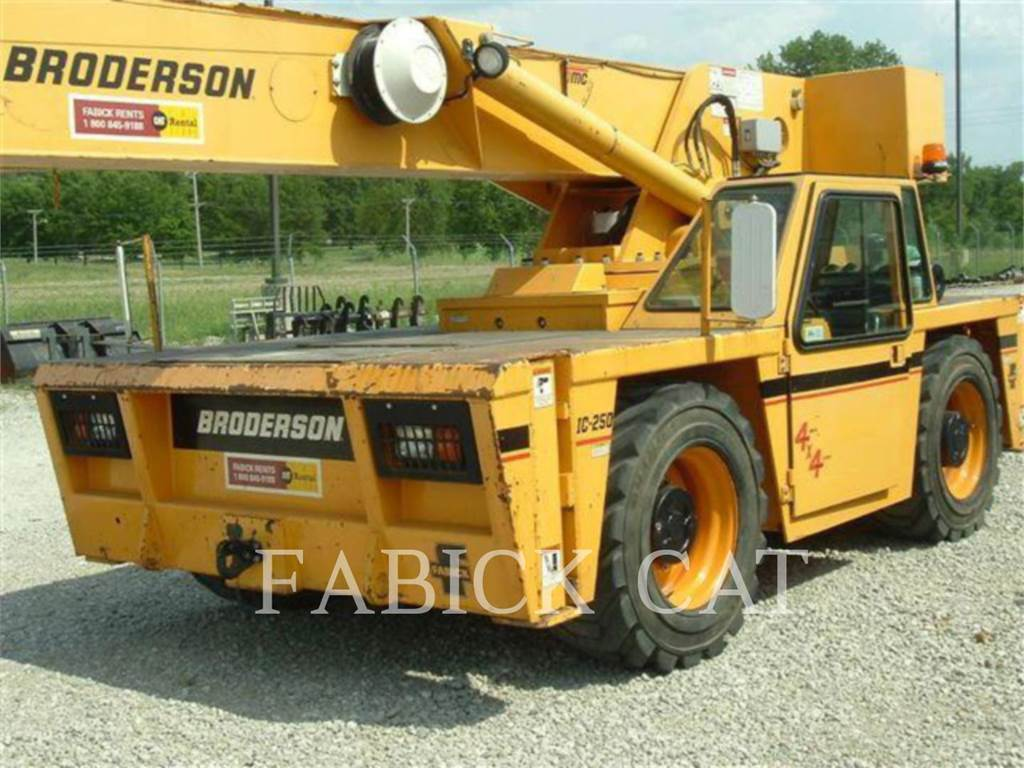Broderson CRANE IC250-C3, cranes, Construction