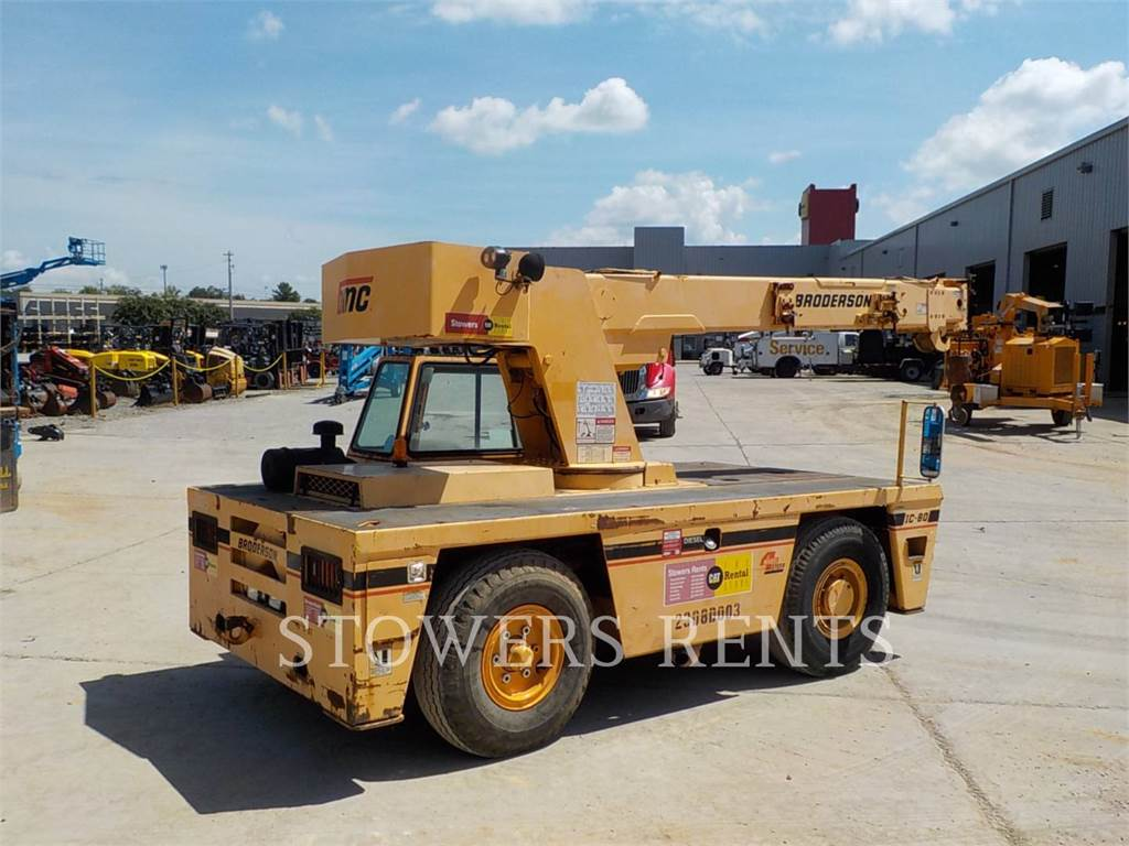 Broderson IC80-3G, cranes, Construction