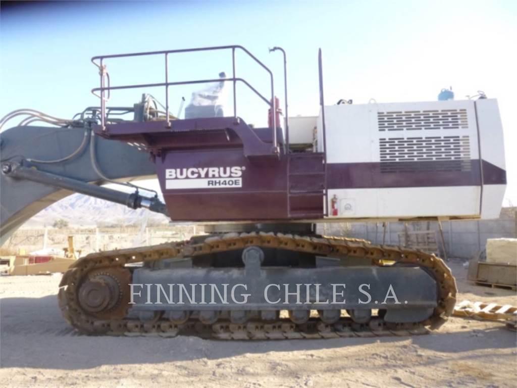 Bucyrus-Erie RH40E, Raupenbagger, Bau-Und Bergbauausrüstung